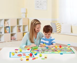 Play-Doh Letters and Language Set