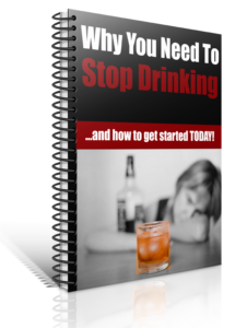 Why Quit Drinking Alcohol